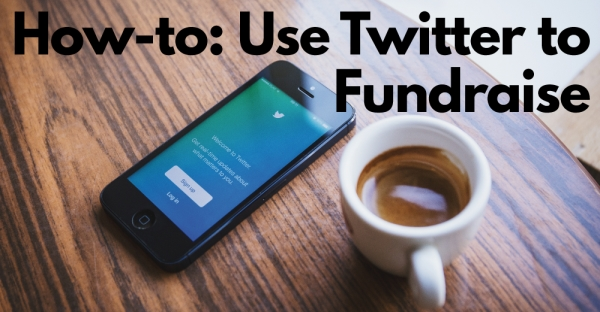 twitter to fundraise